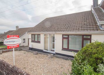 Thumbnail 3 bed semi-detached bungalow for sale in Cardigan Road, Eggbuckland, Plymouth