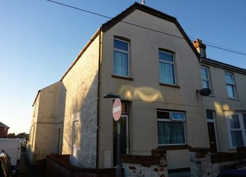 Thumbnail 3 bed end terrace house for sale in Cromwell Road, Weymouth