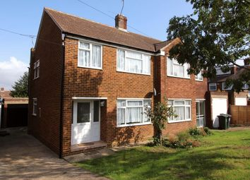 Thumbnail 3 bed semi-detached house to rent in Teesdale Road, Dartford