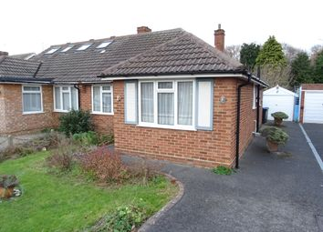 Thumbnail 2 bed semi-detached bungalow for sale in Foxlake Road, Byfleet