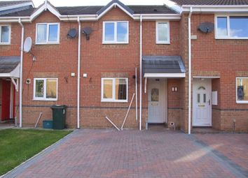Thumbnail 2 bed terraced house to rent in Manor House Court, Scawthorpe, Doncaster