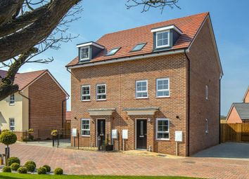 "Thumbnail 3 bedroom semi-detached house for sale in ""Norbury"" at Red Lodge Link Road, Red Lodge, Bury St. Edmunds"