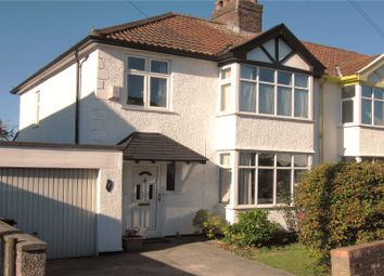 Thumbnail 3 bed end terrace house for sale in Cranham Road, Westbury-On-Trym, Bristol