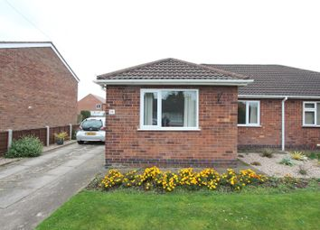 Thumbnail 2 bed semi-detached bungalow for sale in St. Martins Drive, Desford, Leicester