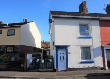 Thumbnail 2 bed end terrace house for sale in Weir Road, Shrewsbury