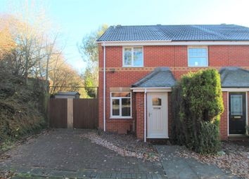 Thumbnail 2 bedroom terraced house to rent in Ambergate Close, Redditch