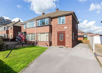Thumbnail 3 bed semi-detached house for sale in Leinster Avenue, Doncaster