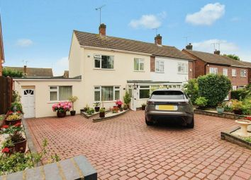 Thumbnail 3 bed semi-detached house for sale in Leasway, Wickford