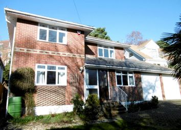 Thumbnail 4 bedroom detached house to rent in Belle Vue Road, Parkstone, Poole