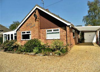 Thumbnail 2 bed detached bungalow for sale in Sandy Lane, Blackborough End, King's Lynn, Norfolk