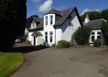 Thumbnail 4 bed detached house for sale in Ardrossan Road, Seamill, West Kilbride