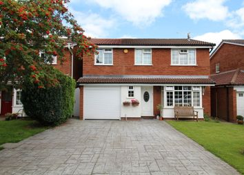 Thumbnail 4 bed detached house for sale in Belfry Close, Wilmslow