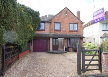 Thumbnail 4 bedroom detached house for sale in Salisbury Road, Totton