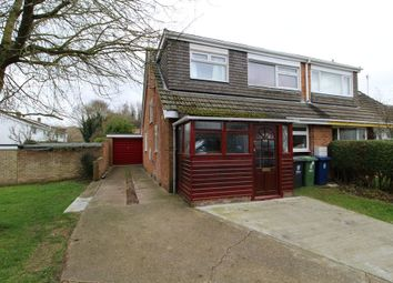 Thumbnail 4 bedroom semi-detached house to rent in Lilac End, Haslingfield, Cambridge