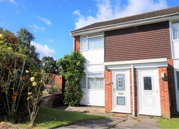 Thumbnail 2 bedroom end terrace house for sale in Sengana Close, Botley
