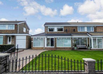 Thumbnail 4 bedroom semi-detached house for sale in Lyndhurst Road, Ashington
