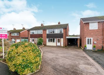 Thumbnail 3 bed semi-detached house for sale in Marlpit Lane, Denstone, Uttoxeter