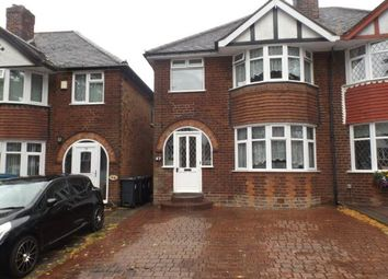 Thumbnail 3 bed semi-detached house for sale in Beaufort Avenue, Hodge Hill, Birmingham, West Midlands