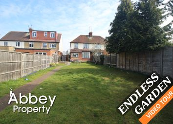 Thumbnail 3 bed semi-detached house to rent in Oakley Road, Leagrave, Luton