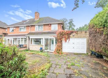 Thumbnail Semi-detached house for sale in Chamberlain Road, Kings Heath, Birmingham