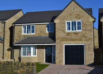 Thumbnail 4 bed detached house for sale in Moor Close Lane, Queensbury, Bradford