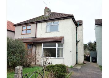 Thumbnail 2 bed semi-detached house for sale in South Row, Barrow-In-Furness