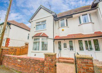 Thumbnail 4 bedroom semi-detached house for sale in Waterloo Road, Penylan, Cardiff