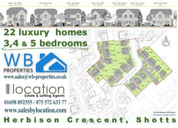 Thumbnail 3 bed semi-detached house for sale in Reserved ... Plot 162 Herbison Crescent, Shotts, Shotts
