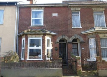 Thumbnail 3 bedroom terraced house for sale in Ipswich Road, Lowestoft