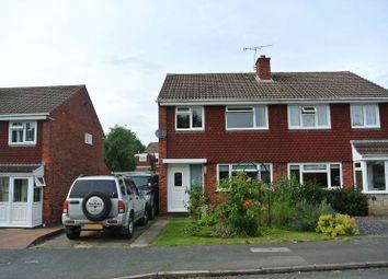 Thumbnail 3 bedroom semi-detached house for sale in Swinburne Close, Sutton Hill, Telford, Shropshire.