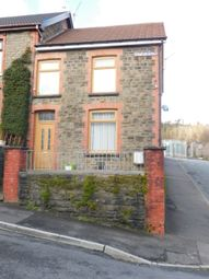 Thumbnail 3 bed end terrace house for sale in Charles Street, Tonypandy