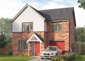 "Thumbnail 3 bed detached house for sale in ""The Melton"" at Cranleigh Road, Woodthorpe, Mastin Moor, Chesterfield"