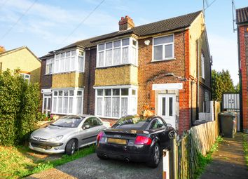 Thumbnail 3 bedroom semi-detached house for sale in St. Michaels Crescent, Luton
