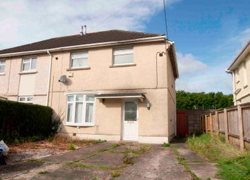 Thumbnail 3 bedroom semi-detached house for sale in Brynawel Road, Gorseinon, Swansea, Abertawe