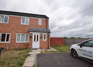 Thumbnail 3 bed semi-detached house to rent in Barnacle Place, Newcastle-Under-Lyme