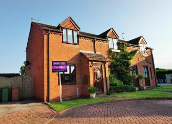 Thumbnail 2 bed semi-detached house for sale in Nanrock Close, Eastrington, Goole