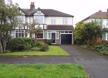 Thumbnail 4 bed semi-detached house for sale in Mill Lane, Hazel Grove, Stockport
