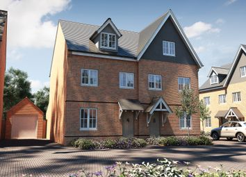 "Thumbnail 3 bed terraced house for sale in ""The Acton"" at Town Farm Close, Thame"