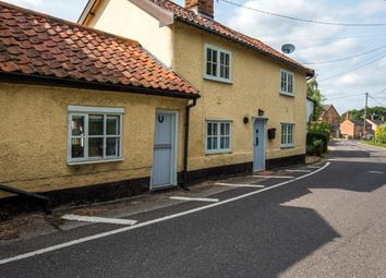 Thumbnail 2 bed link-detached house for sale in The Street, Metfield, Harleston
