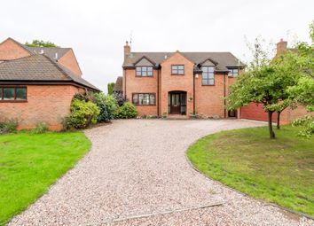 Thumbnail 4 bed detached house for sale in The Acreage, Goostrey