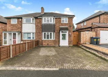 Thumbnail 3 bed semi-detached house for sale in Alvechurch Road, Northfield, Birmingham, West Midlands