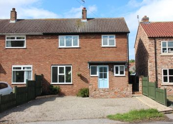Thumbnail 3 bed semi-detached house for sale in Winston Row, Low Street, Thornton Le Clay, York