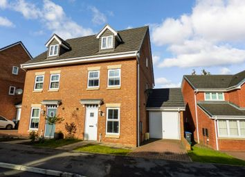 Thumbnail 3 bed town house for sale in Holly Crescent, Sacriston, Durham