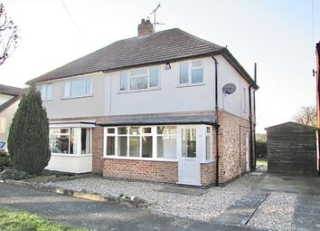 Thumbnail 3 bed semi-detached house for sale in Vicarage Close, Kirby Muxloe, Leicester, Leicestershire