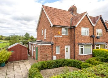 Thumbnail 3 bed semi-detached house for sale in The Crescent, Heslington, York, North Yorkshire