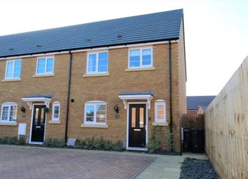 Thumbnail 3 bed end terrace house for sale in Armistice Croft, Blunham, Bedford