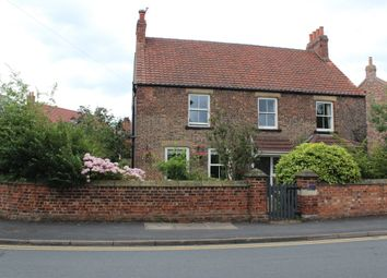 Thumbnail 4 bed detached house for sale in Main Street, Riccall, York