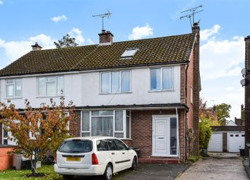 Thumbnail 4 bed semi-detached house for sale in Elgar Avenue, Crowthorne, Berkshire