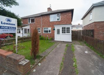 Thumbnail 2 bedroom semi-detached house for sale in Seventh Avenue, Blyth