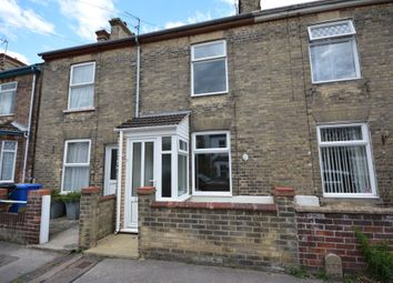 Thumbnail 3 bed terraced house to rent in Rochester Road, Lowestoft, Suffolk